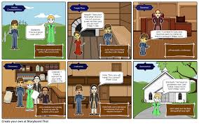 john proctor tragic hero storyboard by steinbrl