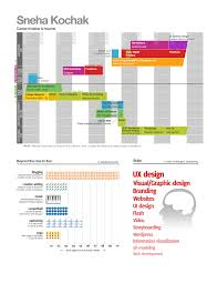 visual infographic resume examples com career timeline and resume