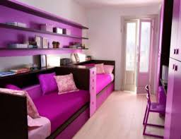 bedroom remarkable teenage bedroom design idea with purple pink bed purple black bookshelf and white floor amazing yellow office chair