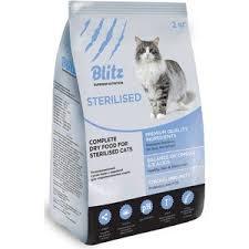 <b>Сухой Корм Blitz Petfood</b> Superior Nutrition Adult Cats Sterilised с ...