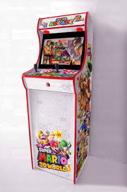 <b>maquina</b>-arcade-completa-super-mario-<b>3d</b>-world   Arcade, Arcade ...