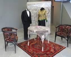 Installation view, ladies and <b>gentleman clothing</b> in Alafranga Style ...