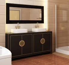 bathroom design with black white combination for inspiring asian modern furniture