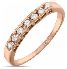 Сколько стоит ЛУКАС <b>Кольцо с 7 бриллиантами</b> из красного ...