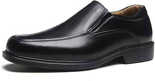 La Milano Wide Width Men's Leather Dress Shoes ... - Amazon.com