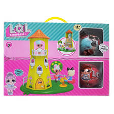 LOL Surprise Домик-Башня для Куколок + 2 Шара LOL (9 см) 5 ...