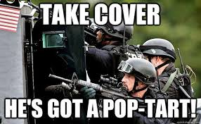Pop Tart Gun memes | quickmeme via Relatably.com