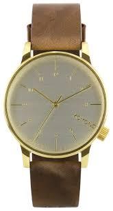 Наручные <b>часы KOMONO Winston</b> Regal Saddle Brown купить по ...