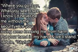 Love Song Lyrics, Romantic Quotes About Love For Valentine's Day ...