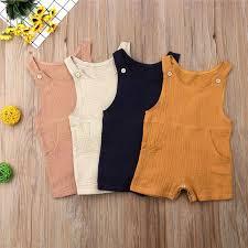 <b>PUDCOCO Cute</b> Kids <b>Newborn Baby</b> Boy Girl Cotton Linen Romper ...