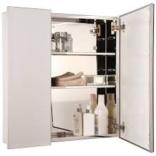 croydex bathroom cabinet:  alternate image of croydex dempsey double door stainless steel cabinet