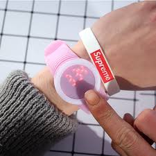 Hot Fashion Watches for Women Candy <b>Silicone Watchband</b> Touch ...