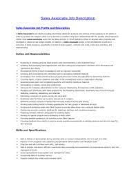 job description of retail  s associate for resume        job description of retail  s associate for resume  s associate job description for resume