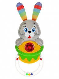 Музыкальная развивающая <b>игрушка</b> Заяц HT798-R <b>ТМ Умка</b> ...