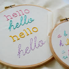 4 Surprisingly Easy Stitches for Perfect Hand <b>Embroidered</b> Letters
