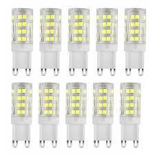 EEEKit 10/5-pack <b>G9 Base</b> 5W 6000K 40W Equivalent Halogen <b>LED</b> ...