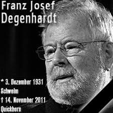Franz Josef Degenhardt ist tot