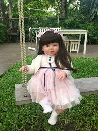 Aliexpress.com : Buy <b>70cm Silicone</b> Vinyl <b>Reborn Baby</b> Doll lifelike ...
