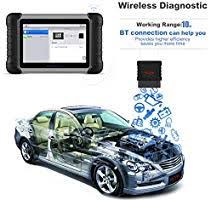 <b>Autel MaxiCOM MK808BT OBD2</b> Scanner Diagnostic Tool,with ...