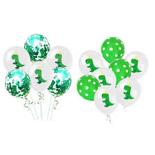 SHKING <b>10pcs Dinosaur</b> Balloons 12 inch <b>Latex</b> Balloon Kids ...