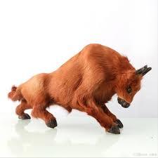 Xmas Gift <b>Bullfight</b> Cattle Plush <b>Simulation</b> New Year Christmas ...