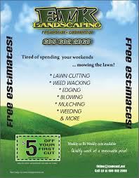 landscaping flyer template teamtractemplate s landscaping flyers samples ovowcrem