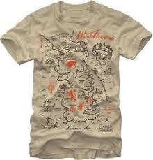 <b>Game of Thrones</b> - <b>Westeros</b> Map - T-Shirt | <b>Game of thrones</b> ...