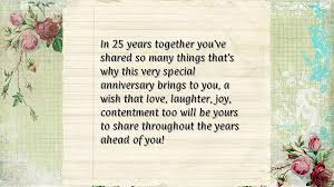 25th wedding anniversary wishes wallpapers ~ Toptenpack.com via Relatably.com