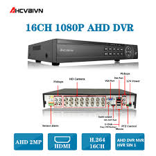 CCTV DVR <b>16Ch</b> Digital Video Recorder AHD <b>16 Channel H</b>.264 ...