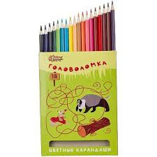 <b>Карандаши цветные</b> 18 цв. <b>№1 School</b> 6570456 мультиколор ...