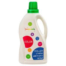 Экологичный <b>гель для стирки цветного</b> белья