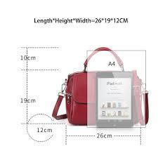 Zency <b>100</b>% <b>Genuine Leather Handbag</b> Fashion Women <b>Tote Bag</b> ...
