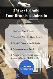 5 ways to build your brand on linkedin don t get so focused on your own content that you forget to share other insight your followers curating great content is something that s too often