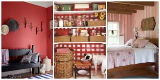 Red Wall Living Room Decorating Decorating With Red Ideas For Red Rooms And Home Decor