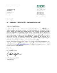 work letter of recommendation sample recommendation letter  letter