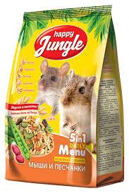 Корм для грызунов <b>Happy Jungle</b> - каталог цен, где купить в ...
