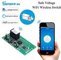 <b>Sonoff SV</b> Safe Voltage <b>Wifi Wireless</b> Switch <b>Smart</b> Home Module ...