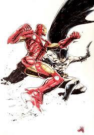 iron man vs batman by andie tong the battle everyone has always waited batman iron man fanboy