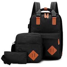COD New Mens <b>bag</b> Womens <b>bag</b> 3in1 Simple fashion start season ...