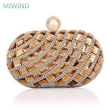 <b>MIWIND 2017</b> Women Glass Diamond Party Evening <b>Bags</b> ...