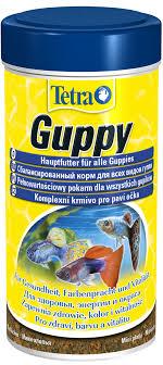 """<b>Корм Tetra</b> """"<b>Guppy</b>"""" для всех видов гуппи, в виде мини-хлопьев ..."""