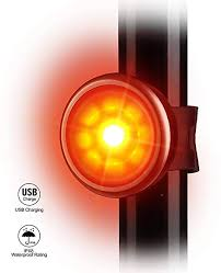 Seenda <b>LED</b> Bike <b>Rear</b> Lights USB <b>Rechargeable</b>, <b>Waterproof</b> Bike ...