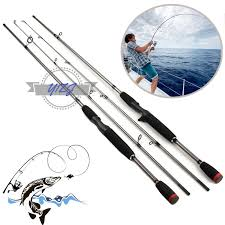 crony weapons series wasc 662m bass casting rods 66 2pieces 8 20g lure weight 26lb line class baitcasting fishing rod
