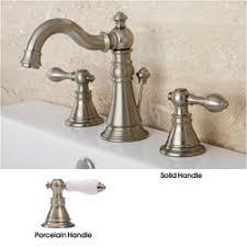 satin nickel bathroom faucets: american patriot satin nickel widespread bathroom faucet