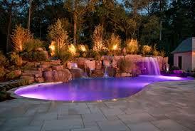 outdoor lighting ideas for backyard image of fascinating backyard landscape lighting ideas backyard landscape lighting