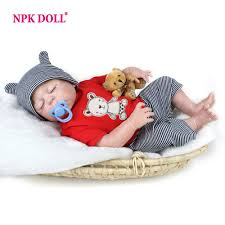 <b>NPKDOLL 22 Inches</b> Baby Reborn <b>55 cm</b> Realistic BeBe Reborn ...