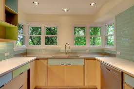 plywood decor wonderful kerf design kitchen cabinet with sink and faucet for kitchen decor ideas