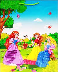 Рыжий Кот <b>Пакет подарочный</b> Дружные принцессы 32,4 х 44,5 х ...