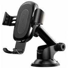 Автомобильный <b>держатель Baseus</b> Wireless Charger Gravity Car ...