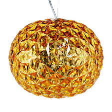 planet ceiling lamp gold bloom lamp gold ferruccio laviani